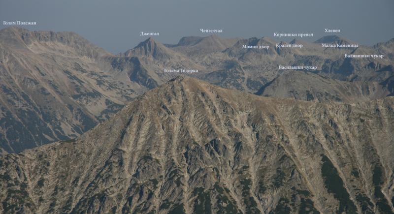 Тодорка - връх гигант в Пирин
