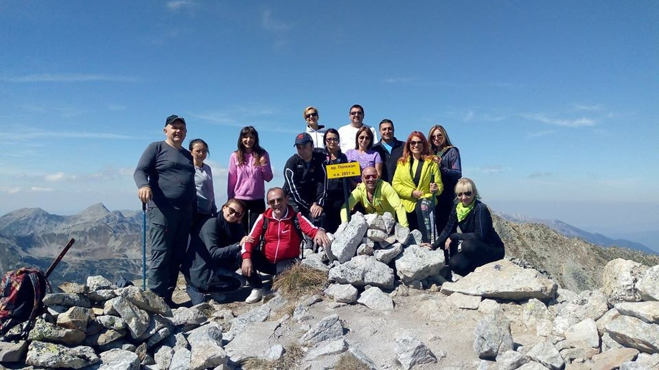 Изкачване на връх Безбог и Полежан.